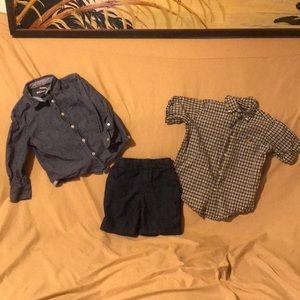 Boys Size 4 Shirts/Shorts Bundle